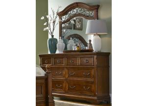 547 Laurelwood 6 Drawer Dresser
